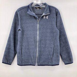 🎪 New Under Armour blue fleece zip jacket